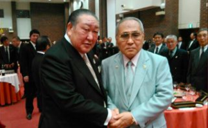 日本ボクシング連盟の山根明会長