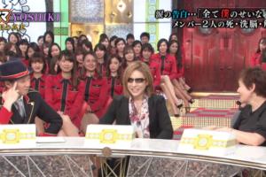 YOSHIKIがテレビで涙