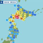 北海道地震、話題のTwitter情報