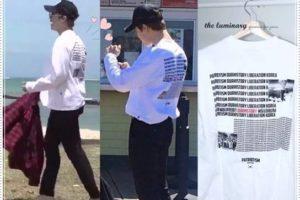 BTS(防弾少年団)が原爆投下Tシャツを着て炎上